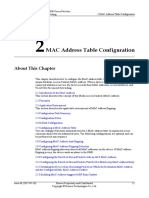MAC Address Table Configuration