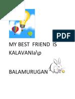My Best Friend Kalaivani{Aiswawaryarani}