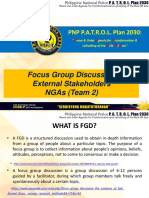 FGD (Impact Audit) Checklist