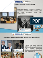 Financial Management Consultancy in Dubai, UAE, Abu Dhabi