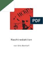 Nachtredaktion - Otto Bonhoff