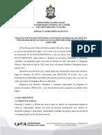 EDITAL N 12 2017 - Bolsas de Artes