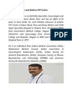 Dr. Anil Chittake and Embrio IVF Centre