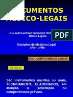 Aula Documentos Medico-legais Ufmg 2010-Sem Fotos