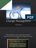 Chapter 1 -Change Management