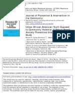 Cooley-Strickland Et Al., 2013 (USA)