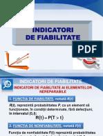 3. Indicatori de Fiabilitate