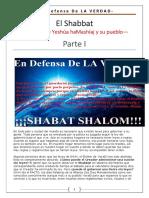El Shabbat - Señal Para El Pueblo de IHVH Parte I