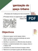 Espao Rural e Espao Urbano