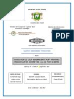 Rapport Du Stage de Production BASSA