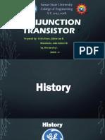 UJT (Unijunction Transistor)