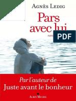 Agnès Ledig - Pars Avec Lui-eBook
