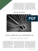 Bugs y Faus-En El Pais de Las Matematicas_-_Antonio Lazcano Araujo