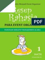 Resep Rahasia Para Event Organizer Part 1