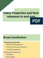 Fabric Properties
