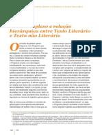 Texto Complexo e Relação Hierarquica