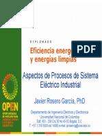 Eficiencia Energética y Energías Limpias Aspectos de Procesos de Sistema Eléctrico Industial 2011