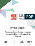 Ideo Product Development-presentation