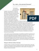 -El Mercado Grande y Malo Una Psicosis Francesa