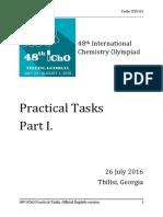 IChO2016 Practical Public