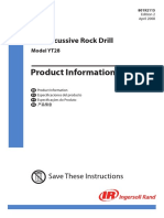 Manual de Martelo Pneumático YT28