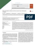 Fuel Volume 171 Issue 2016 [Doi 10.1016_j.fuel.2015.12.054] Wan, Keji; He, Qiongqiong; Miao, Zhenyong; Liu, Xuejing; Huang, -- Water Desorption Isotherms and Net Isosteric Heat of Desorption on Lign