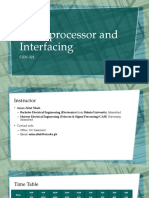 01 Introduction Microprocessor and Interface