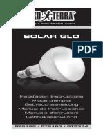 SAMPLE Solar Glo Instruction Manual EU 20151006