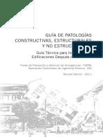 Guia Patologias Constructivas Estructurales No Estructurales