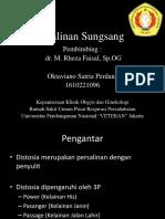 Referat Persalinan Sungsang_oktaviano