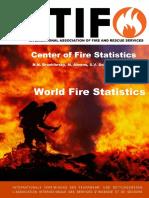Ctif Report20 World Fire Statistics 2015