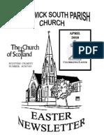 April 2010 Prestwick South Parish Church Newsletter