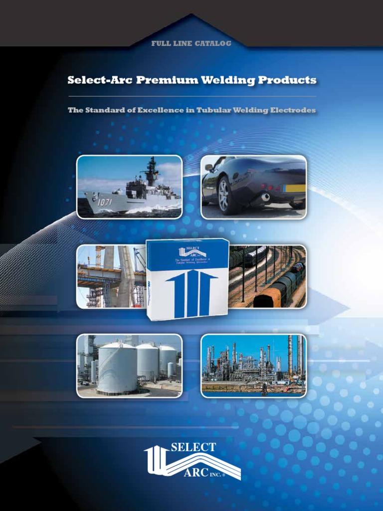 Master Select-Arc Catalog 9.15-New   Welding   Materials