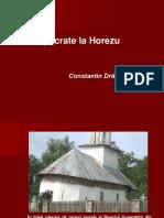 Hipocrate La Horezu Prof.univ .Dr . C Tin Dragulescu