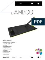 Wacom ebook reader bamboo connect user's manual download free.