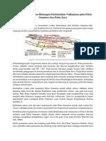 Tatanan Tektonik Dan Hubungan Pembentukan Vulkanisme Pada Pulau Sumatera Dan Pulau Jawa