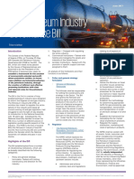 Kpmg Newsletter on the Petroleum Industry Governance Bill