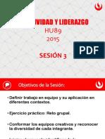RRR - 03 Creatividad y Liderazgo 2015