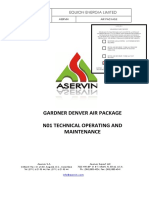 Manual Operacion Compresores de Aire