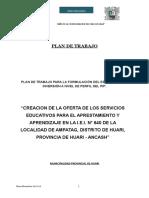 Plan de Trabajo i.e AMPATAG