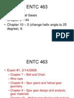 ENTC463Helical Gear