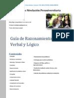 Guia Verbal Lógica UCV 2015