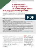 Granulosa Cell in Pcos