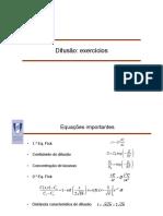 Difusão_Exercícios