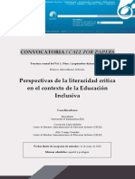 Call for Papers_Monografico_Perspectivas de La Literacidad Crítica en El Contexto de La Educación Inclusiva.xps