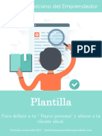 Copia de Plantilla Buyer Persona