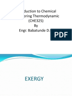 Concept of Exergy