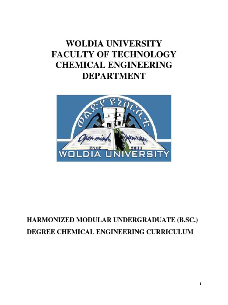 Woldia University Faculty Of Technology Chemical