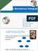 SEMINARIO Valoracion Geriatric A Integral
