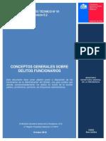 Documento Tecnico 91 Conceptos Generales Delitos Funcionarios